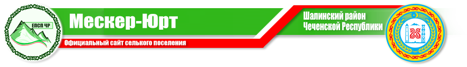 Администрация Мескер-Юртовского сельского поселения Шалинского муниципального района
